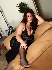 Chubby in nylons — photo 14